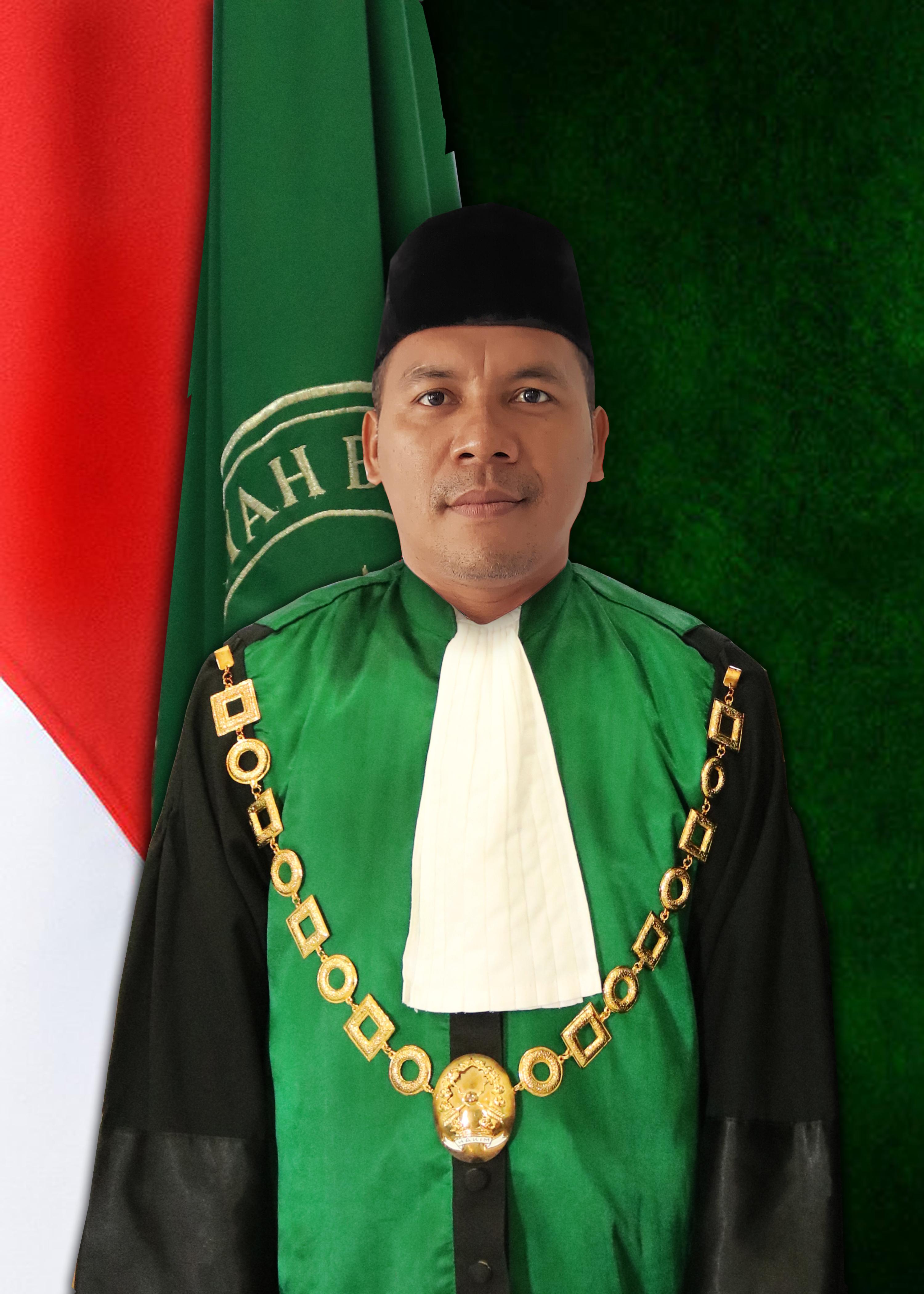 Ketua Mahkamah Syar'iyah Kota Subulussalam